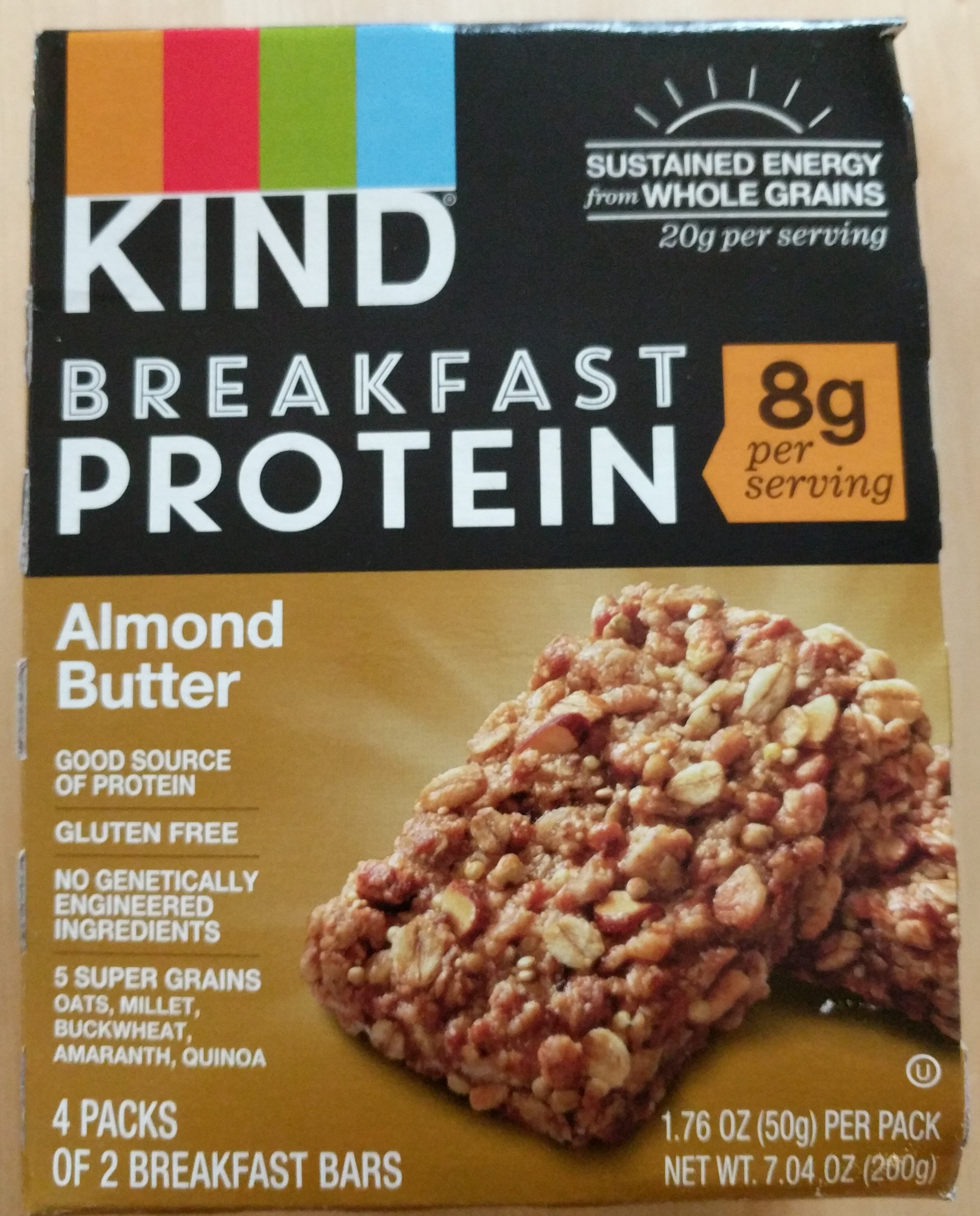Kind Breakfast Protein Almond Butter - Product