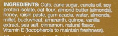 Kind Breakfast Protein Almond Butter - Ingredients