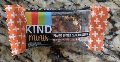 Peanut Butter Dark Chocolate Bar - Produit - en