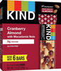 Cranberry almond + antioxidants with macadamia nuts - Prodotto