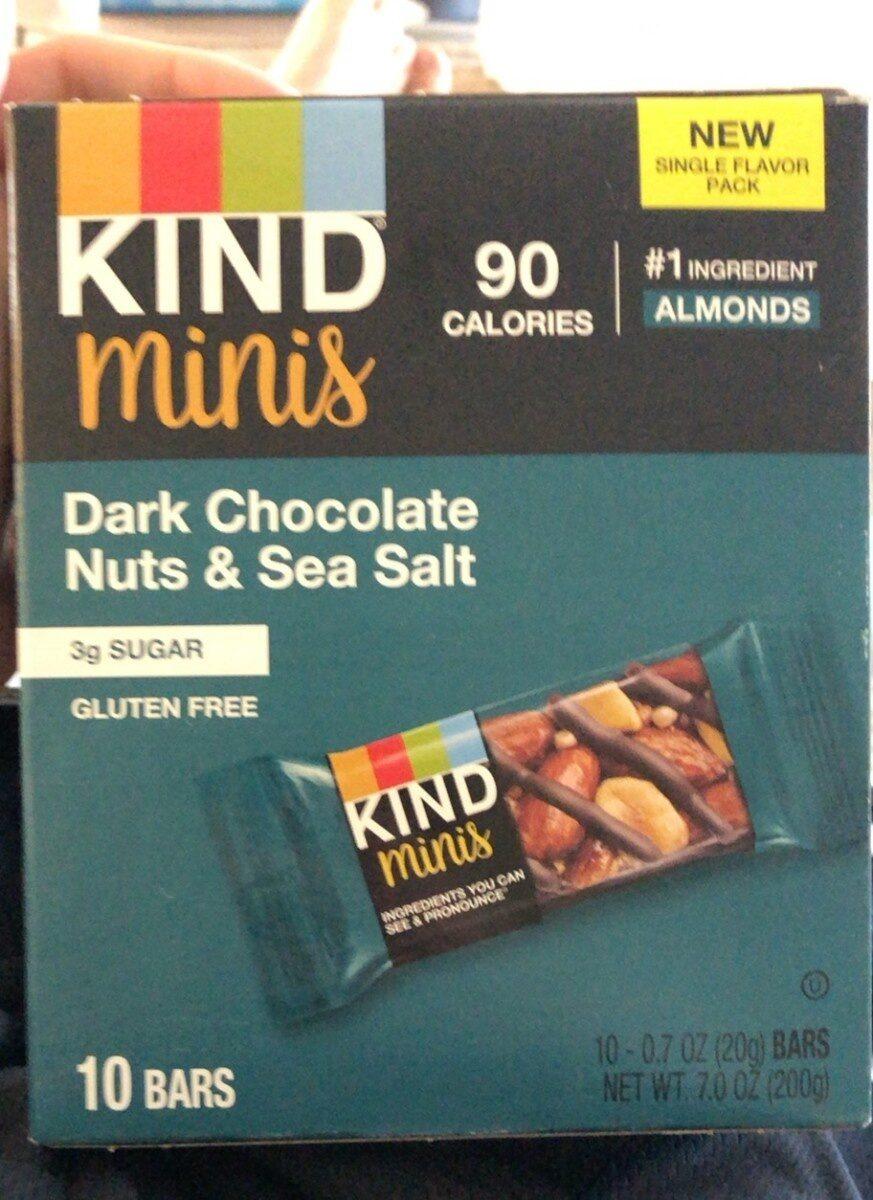 Dark Chocolate Nuts & Sea Salt - Product - en