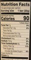 Dark Chocolate Nuts & Sea Salt - Nutrition facts - en
