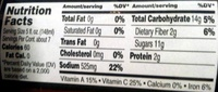 Bloody Mary Mix - Nutrition facts