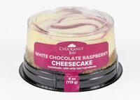 White Chocolate Raspberry Cheesecake - Product - en