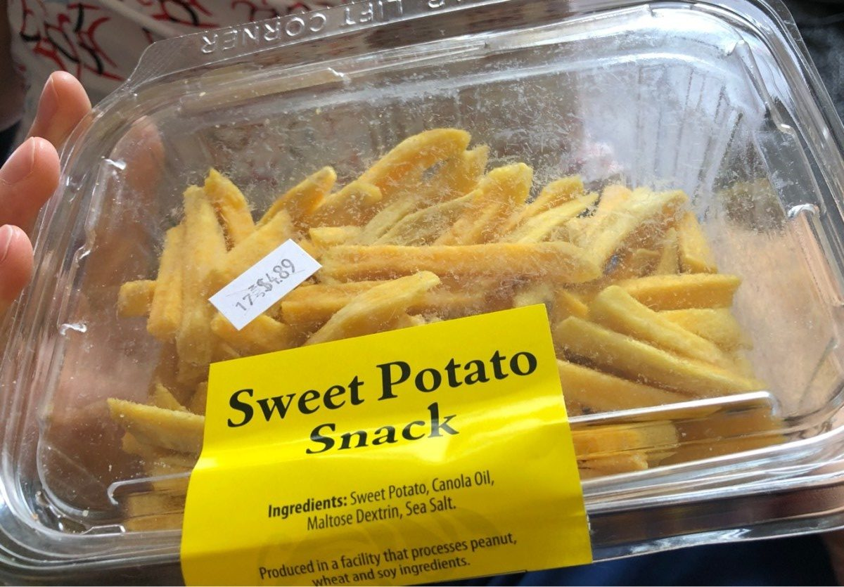 Sweet Potato Snack - Product