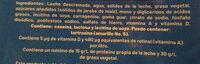 Nutri 10 Practibolsa - Ingrédients - es