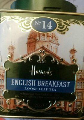 English breakfast loose leaf tea - Product