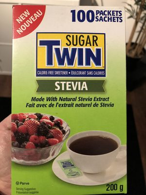 Sugar Twin, Calorie-Free Stevia Sweetener - Product