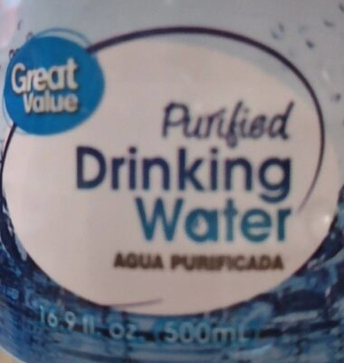 Purified Drinking Water - Producte - es