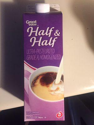 Half & Half - Product