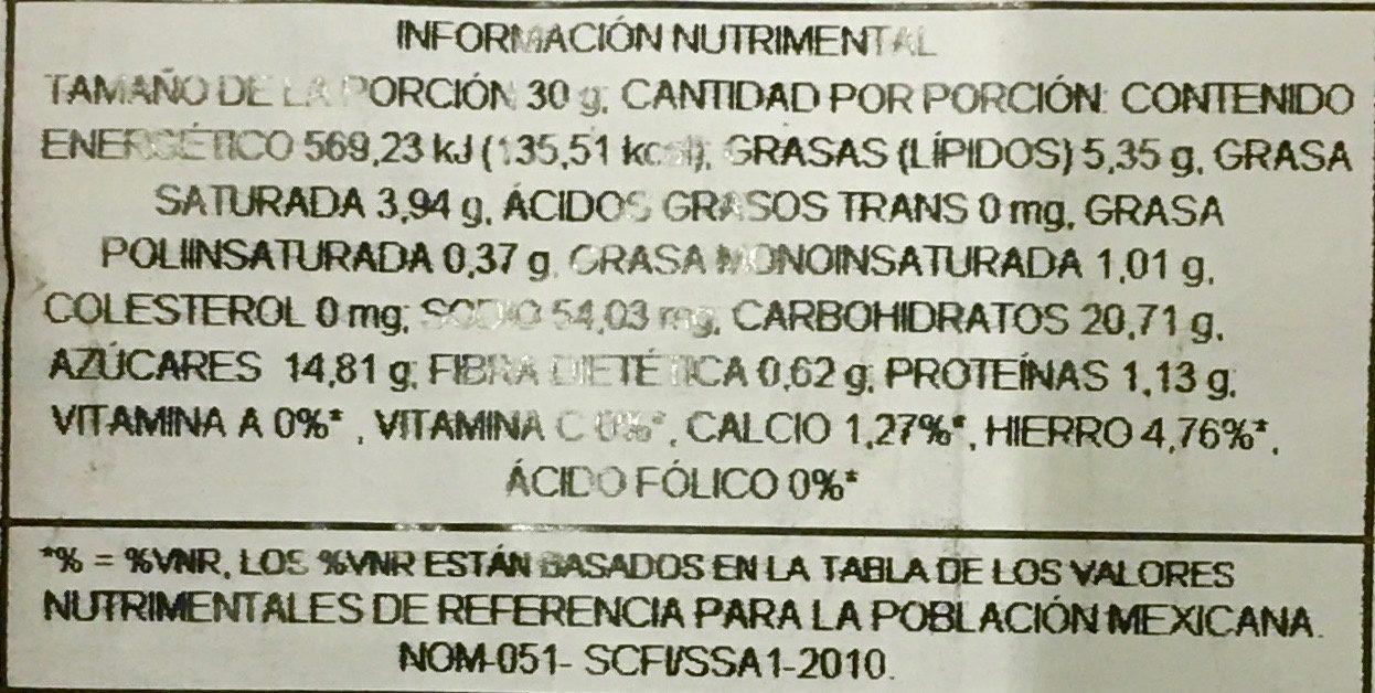 Funge Marshmallow - Voedingswaarden - es