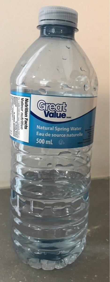 Eau de source naturelle - Product - en