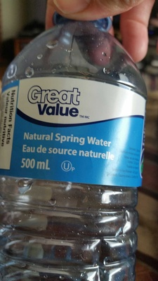 Natural Spring Water - Product - en