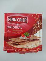 Thin Rye Crispbread With Sourdough Rye, Original - Product - en