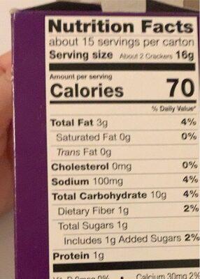 Original multi-grain - Nutrition facts - en