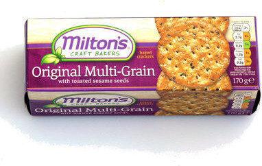 Milton's Original Multi-grain baked crackers - Product - en