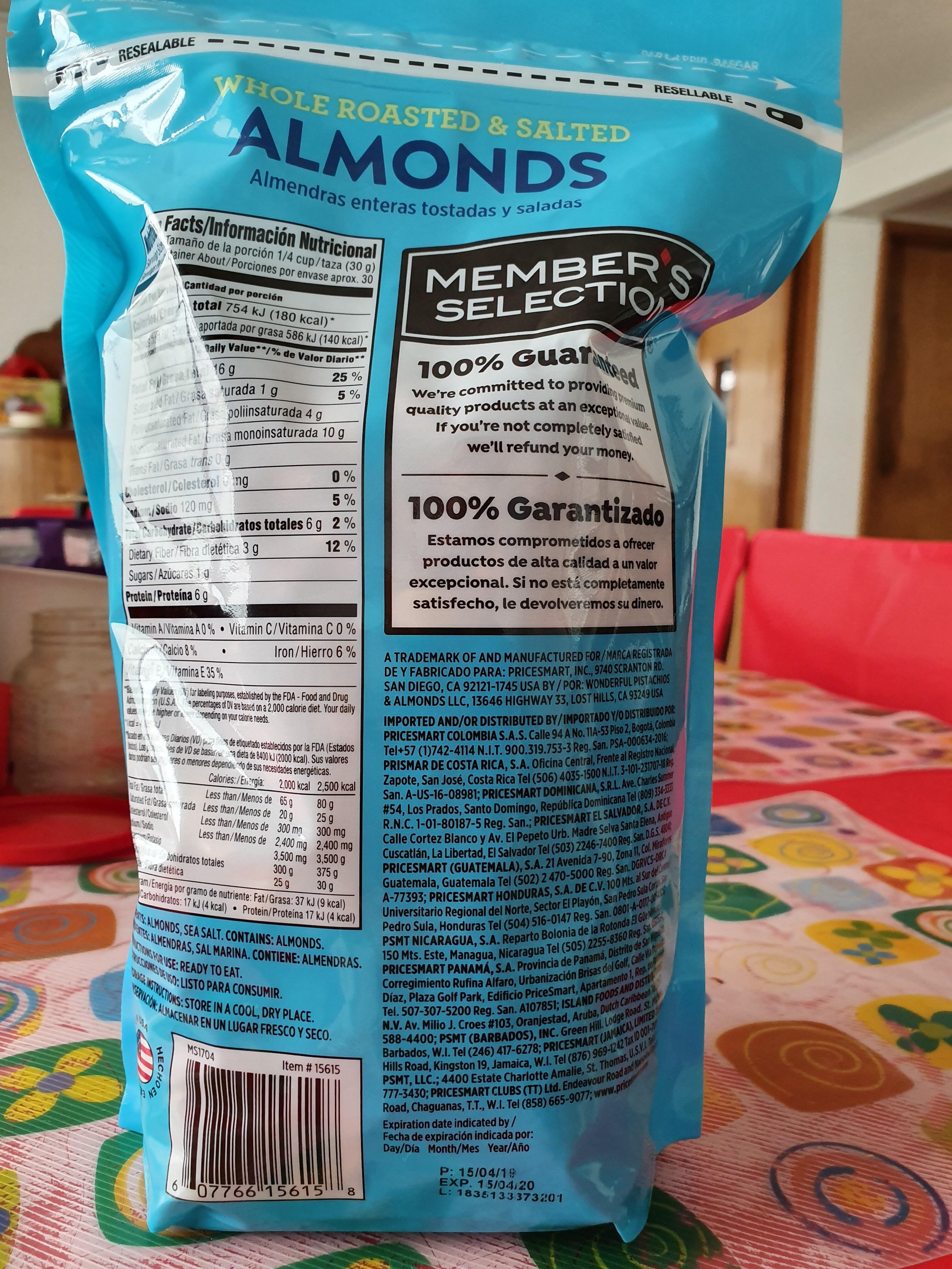 Almonds - Produit - es