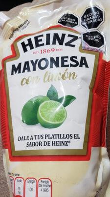 mayonesa con limón Heinz - Producto - es