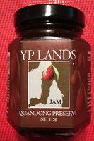 Jam YP LANDS - Quandong Preserve - Produit