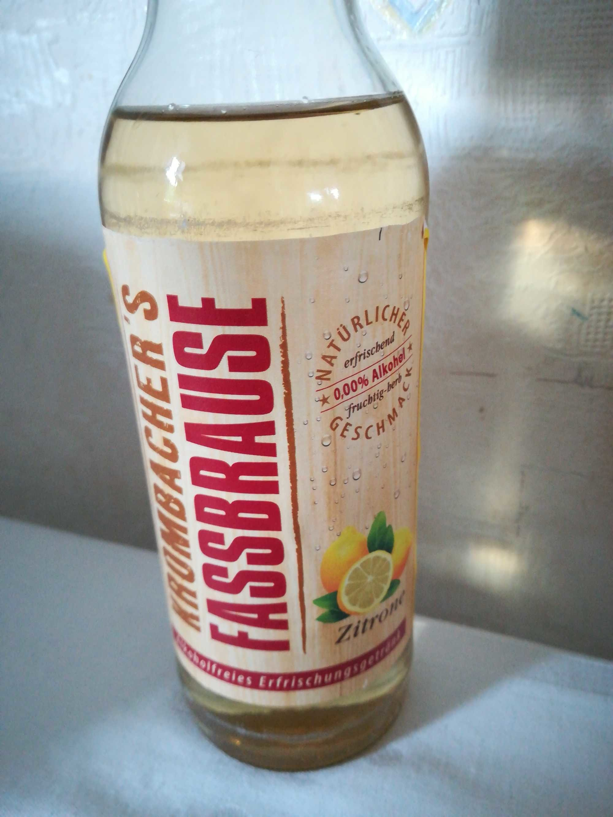 Fassbrause Zitrone - Product - de