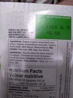 pc organic mint dark chocolate - Ingrédients - en