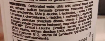 Energy drink - Ingredients - en