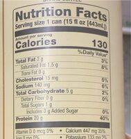Bang coffee - Nutrition facts - en