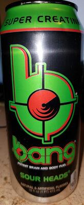 Sour heads energy drink - Product - en