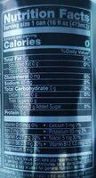Black cherry vanilla protein brain and body fuel, black cherry vanilla - Informations nutritionnelles - fr