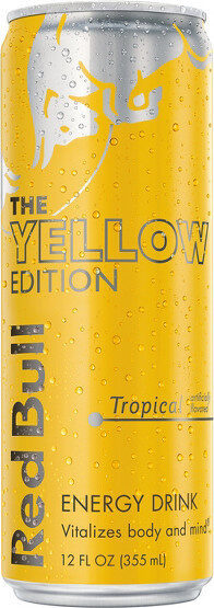 Yellow edition tropical punch energy drink - Product - en