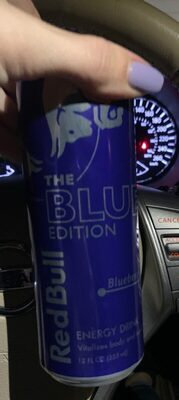 Energy drink, blueberry - Nutrition facts - en