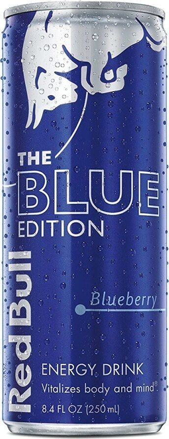 Blue edition energy drink - Product - en