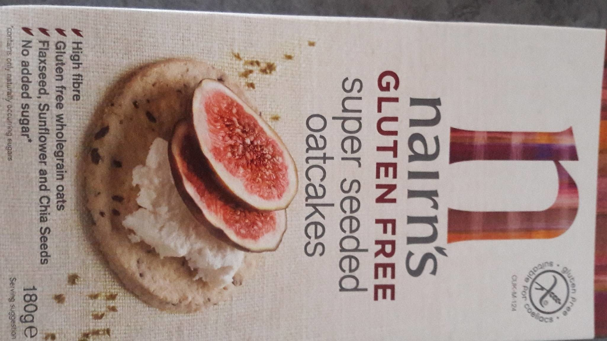 Gluten Free Super Seeded Oatcakes - Product