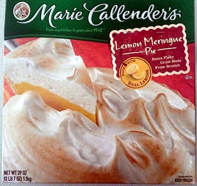 MARIE CALLENDERS Lemon Meringue Pie, 39 OZ - Product - en