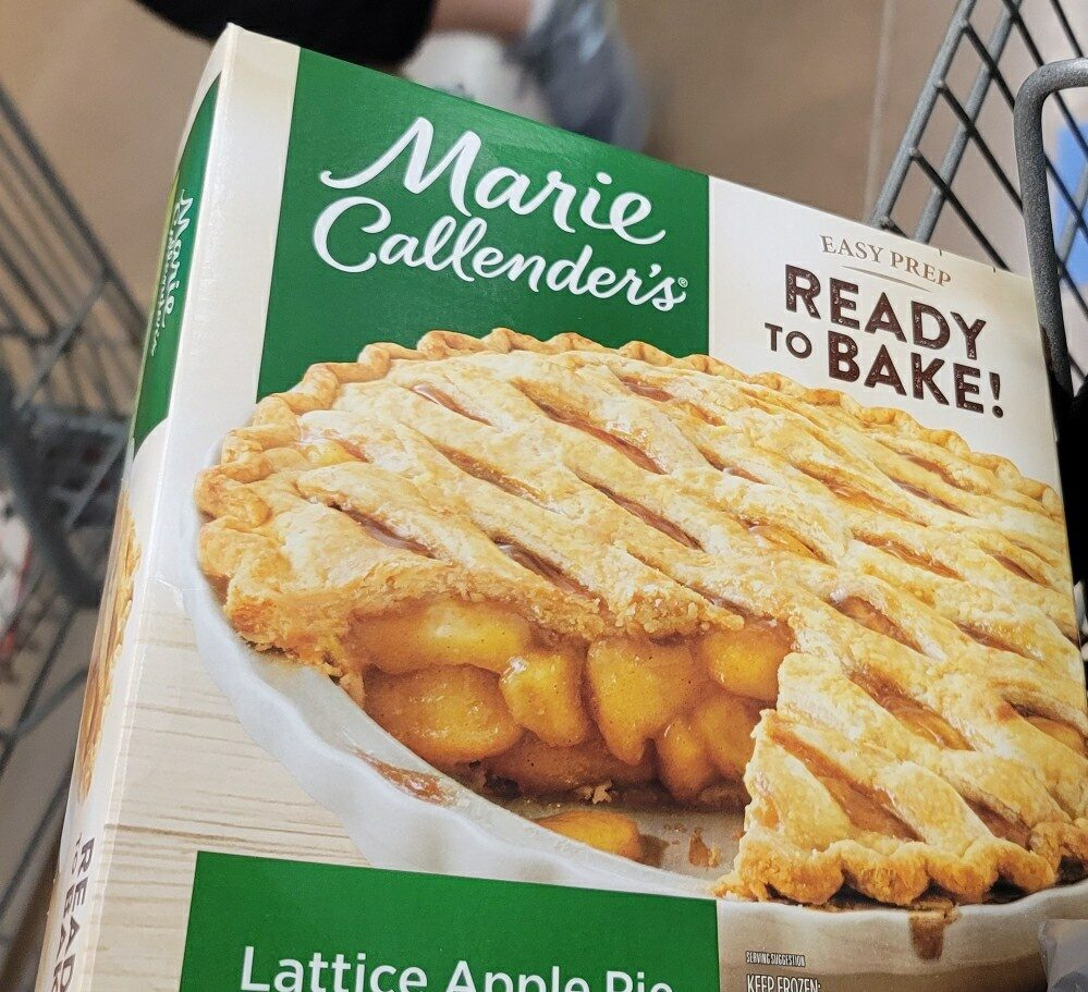 Marie lattice apple pie - Product - en