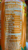 Arizona - Nutrition facts - en