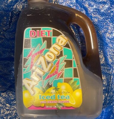Ice tea with lemon flavlor - Product - en