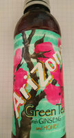 Arizona Green Tea With Ginseng And Honey - Product - en