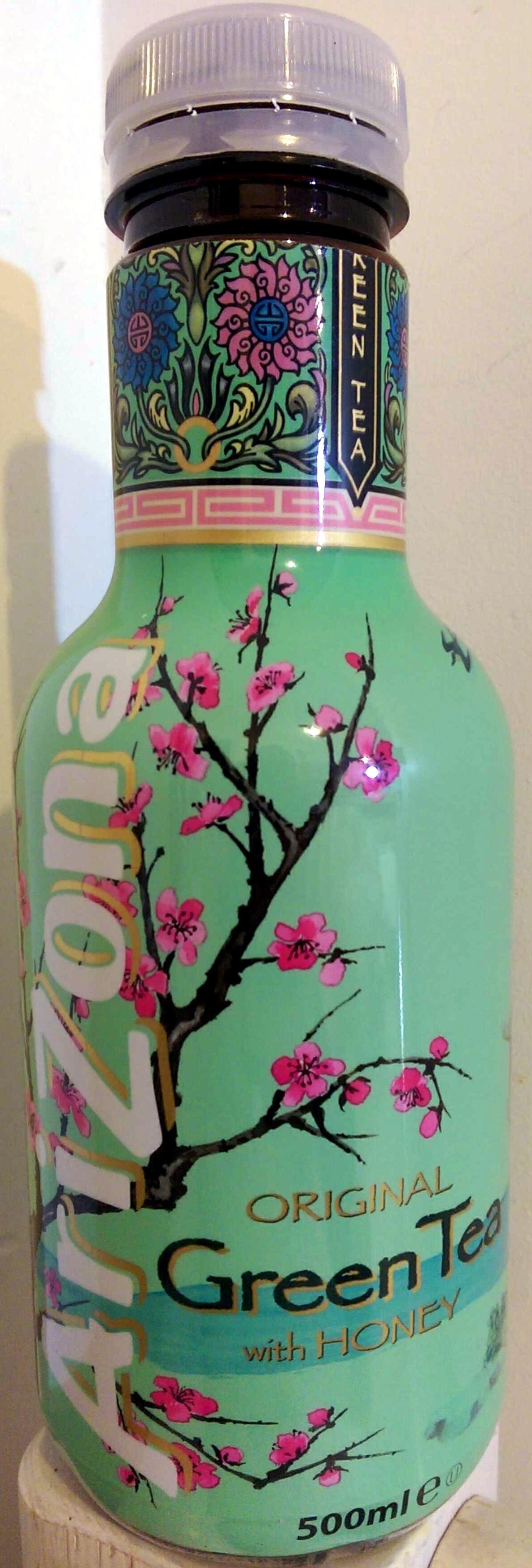 Original green tea with honey - Product