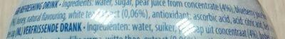 Blueberry White Tea - Ingredients