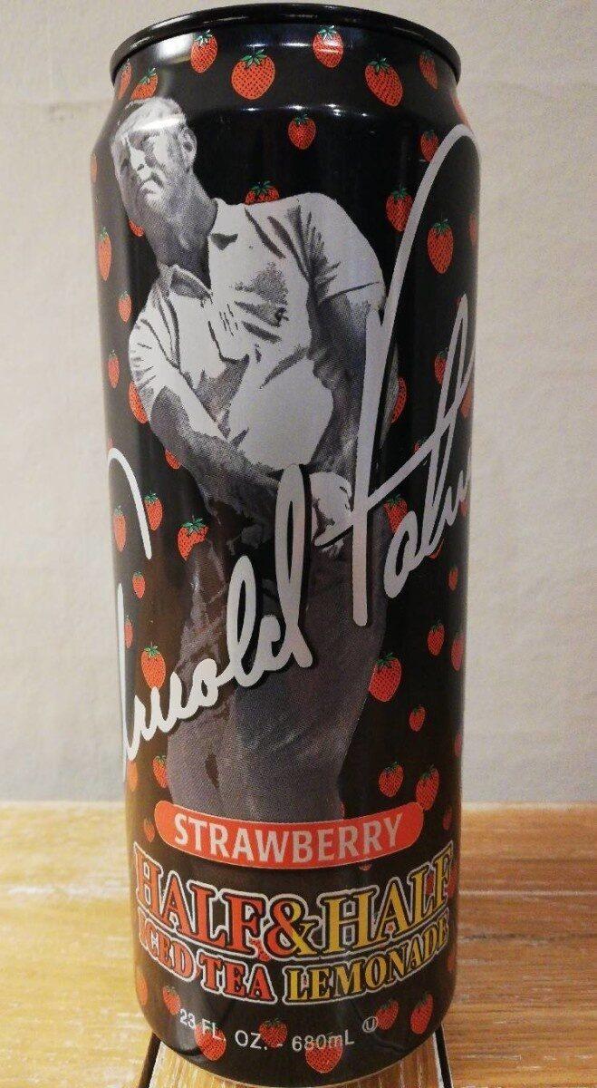 Strawberry half & half iced tea lemonade - Produit - en