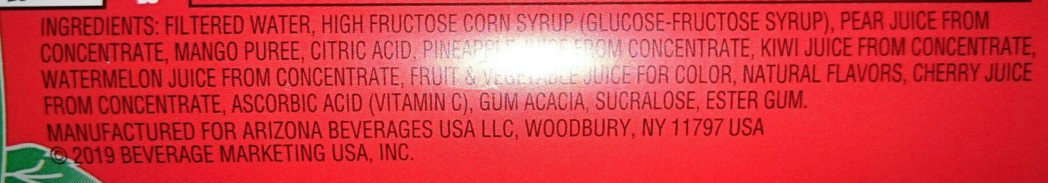 arizona watermelon - Ingredients - en