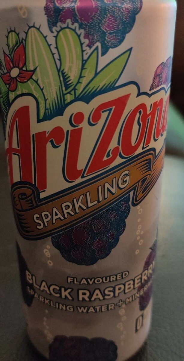 Arizona Sparkling - black raspberry - Product