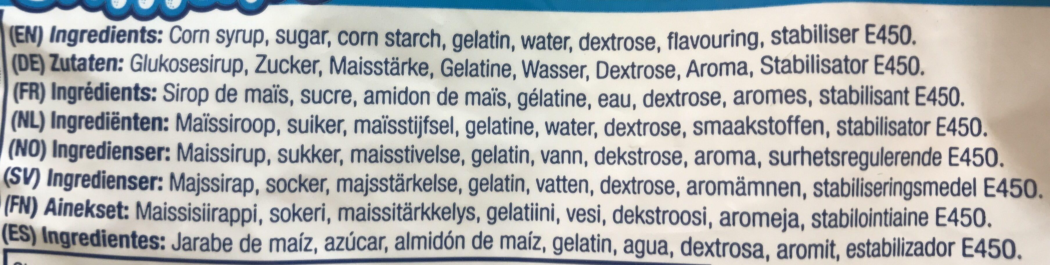 Mini Marshmallows - Ingrediënten - fr