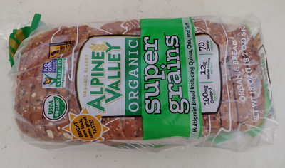 Bread, Organic, Super Grains (Multigrain) - Product