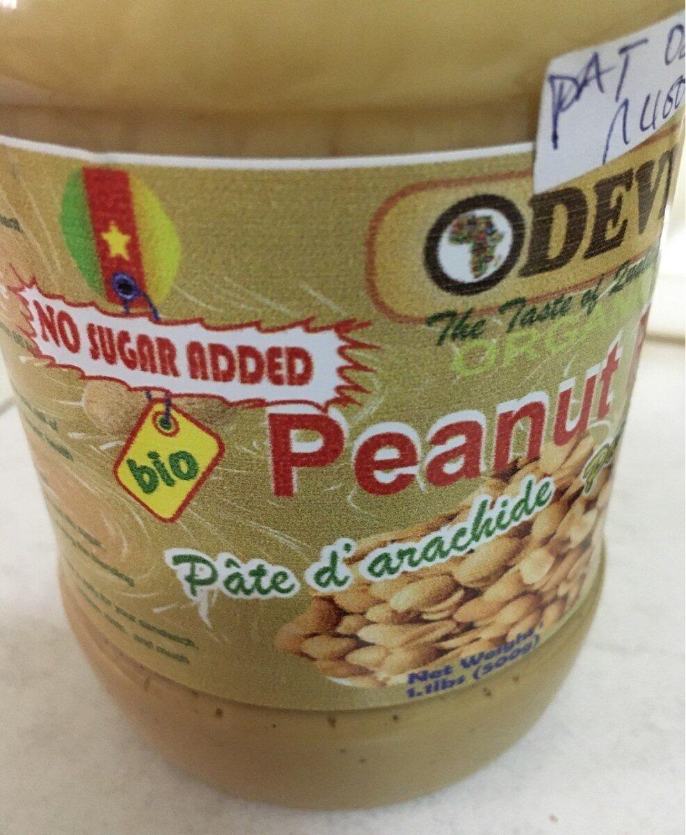 Peanut paste - Produit - fr