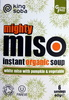 Mighty miso instant organic soup - white miso with pumpkin & vegetable - Product