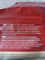 cranberries séchées - Ingrédients