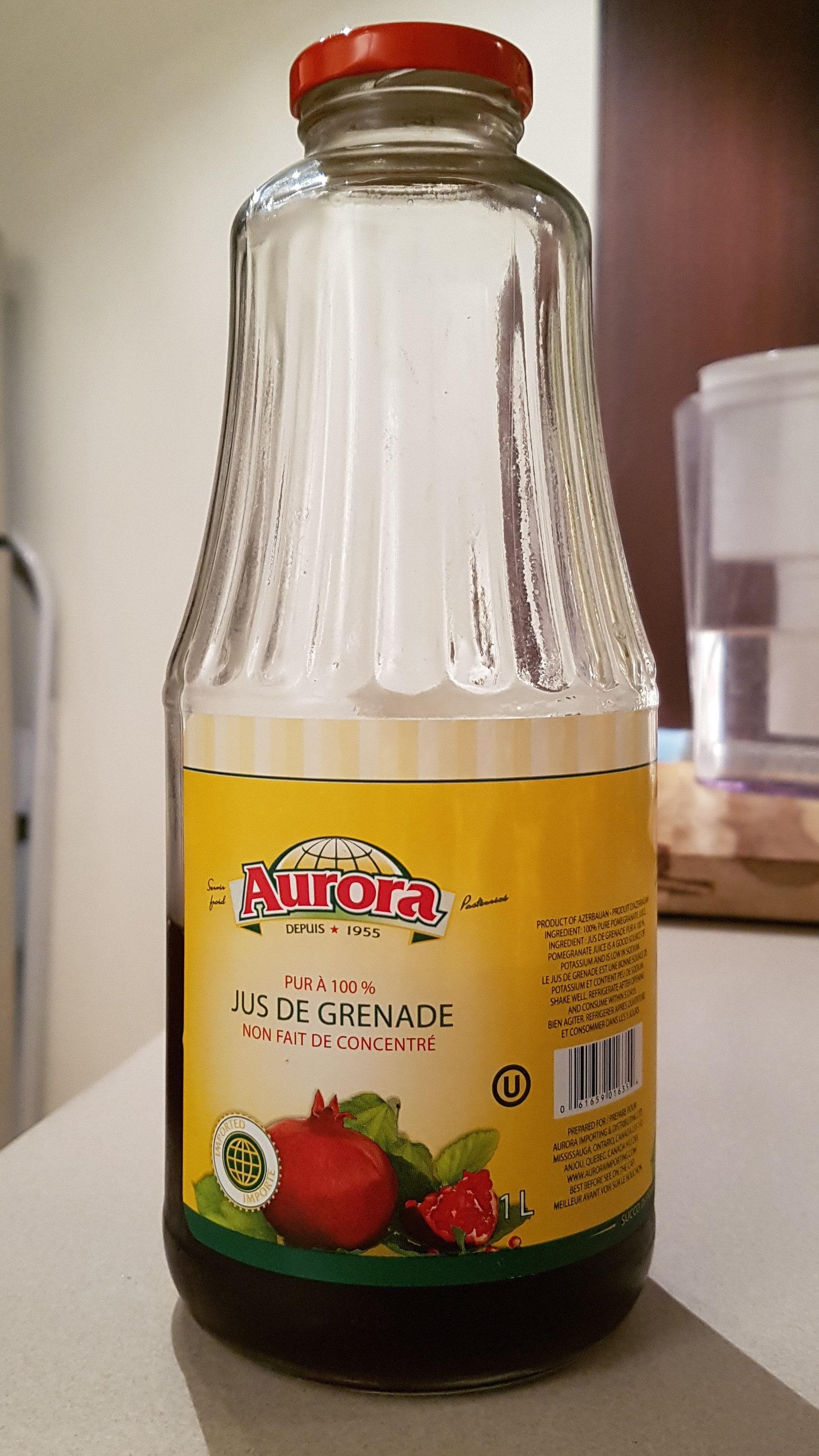 pomegranate juice - Product