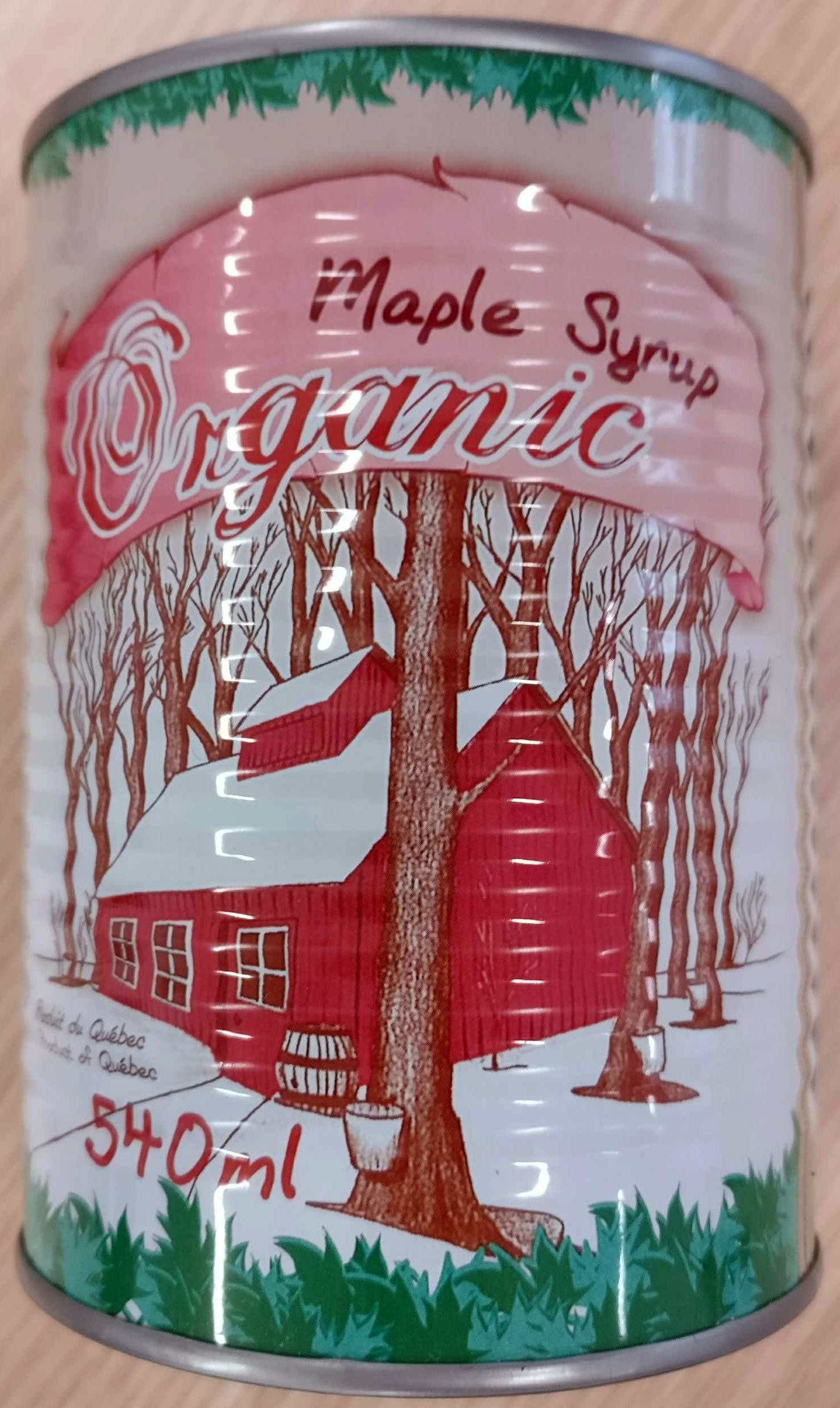 Maple Syrup Organic - Product - en